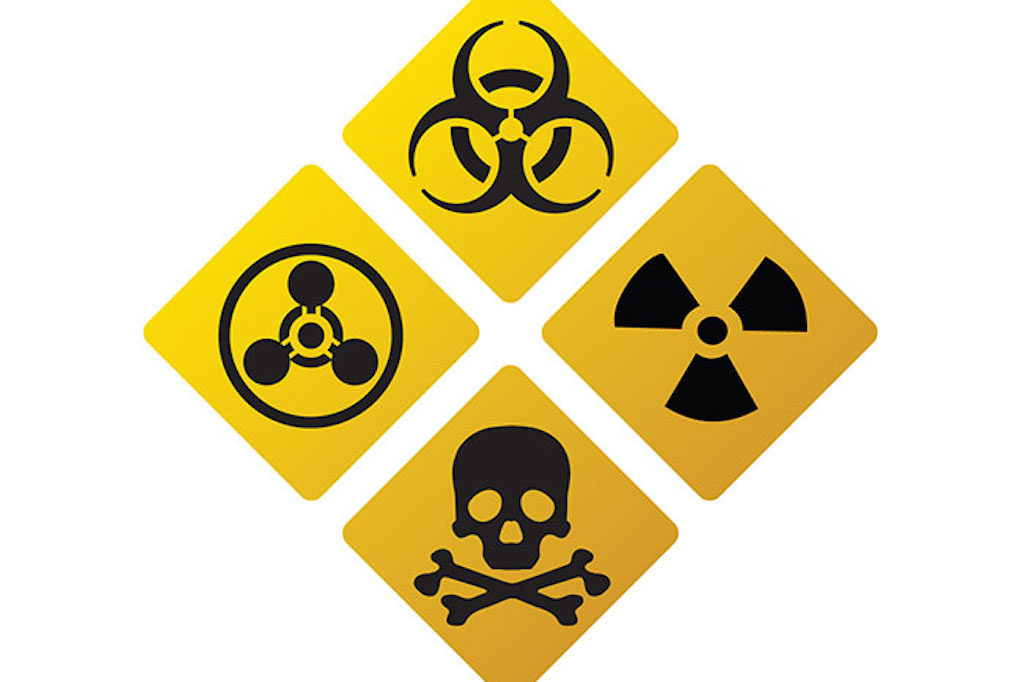 Details of information relating to chemical, biological, radiological and nuclear incidents