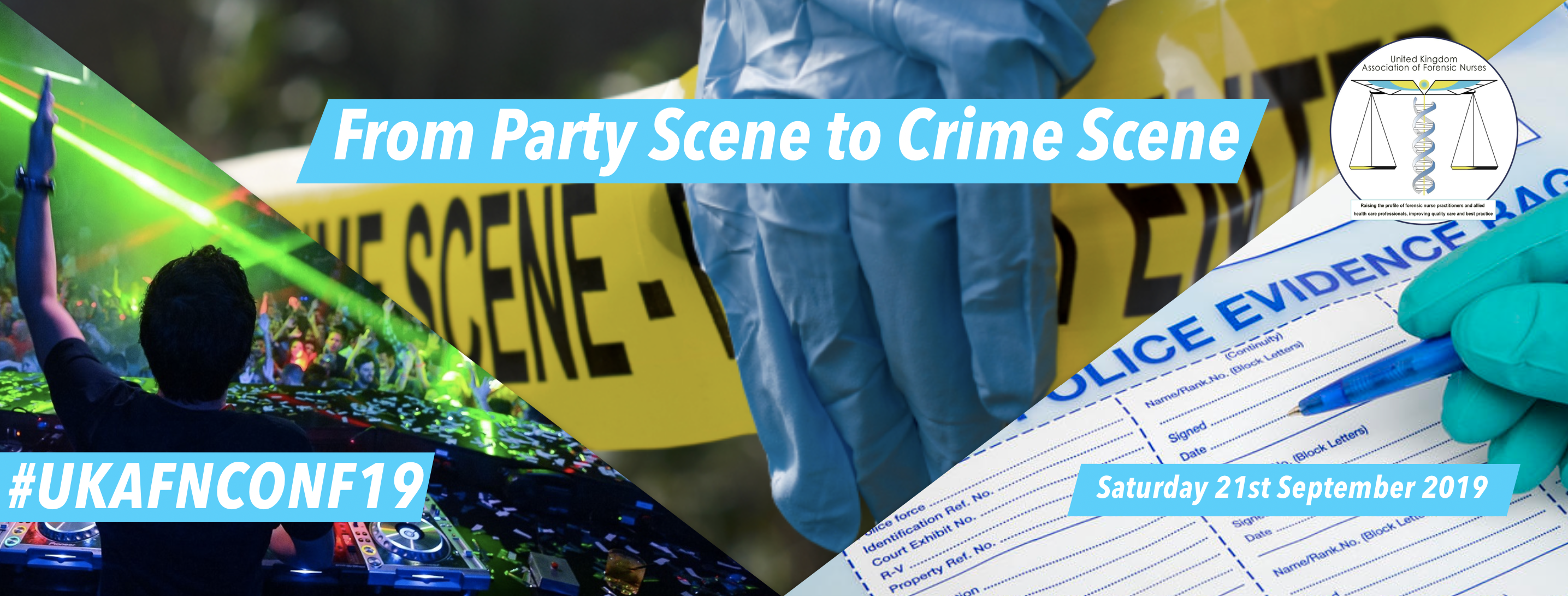From party scene to crime scene